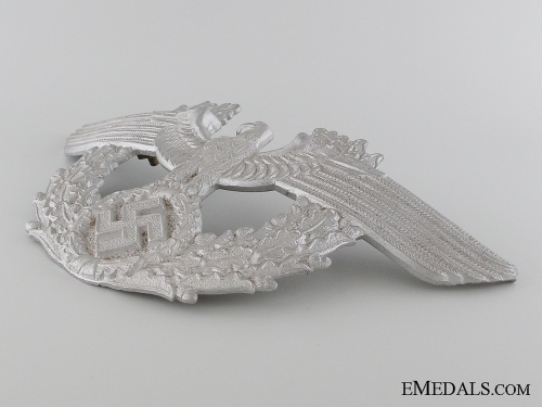 WWII Period German Police Shako Eagle