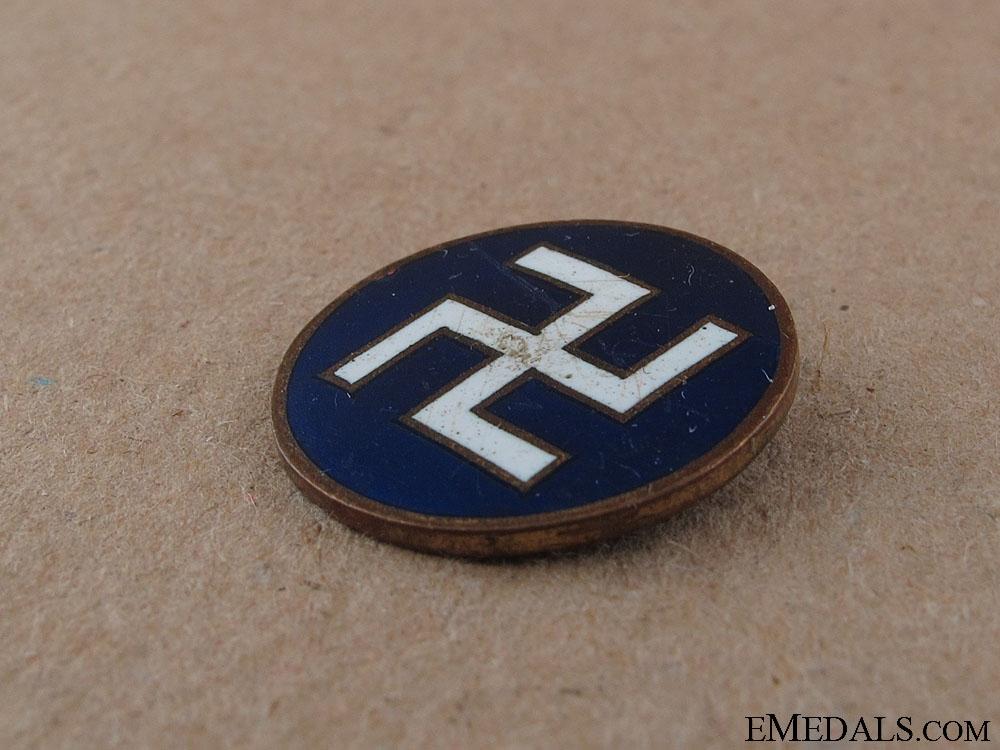 Japanese Buddhist Priest Badge