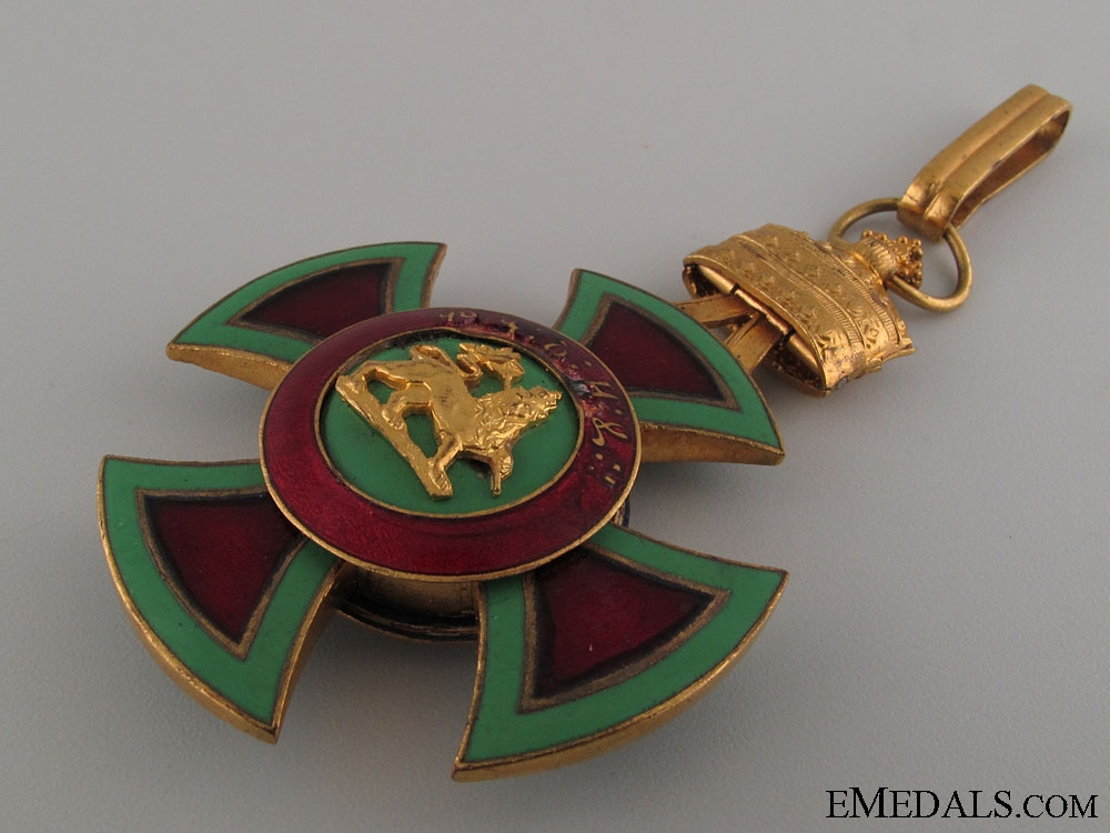 Order of Emperor Menelik II - Grand Cross Set