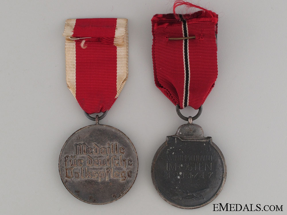 Two Third Reich Medals