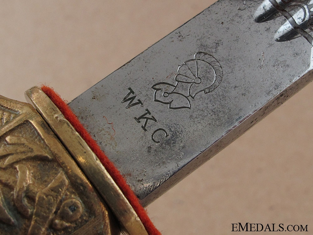 A Kriegsmarine Dagger by WKC