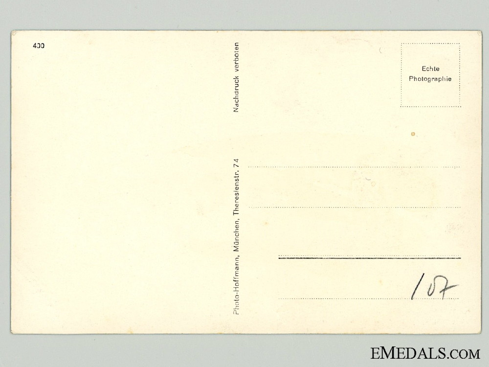 The Signature of SA Commander Viktor Lutze