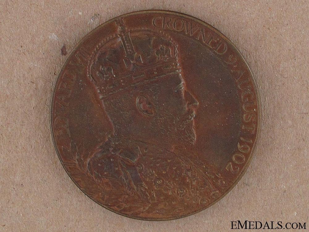 1902 Edward VII Coronation Medal