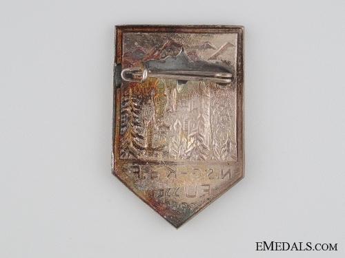 1935 N.S.G. Kraft durch Freude in Fussen Tinnie
