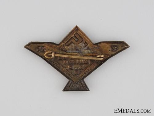 1935 Federation of German Civil Servants Tinnie