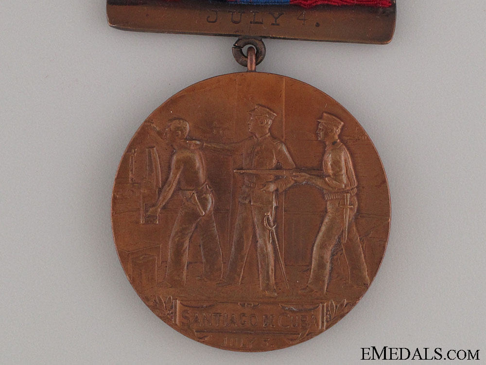 West Indies Naval Campaign Medal - USS Texas