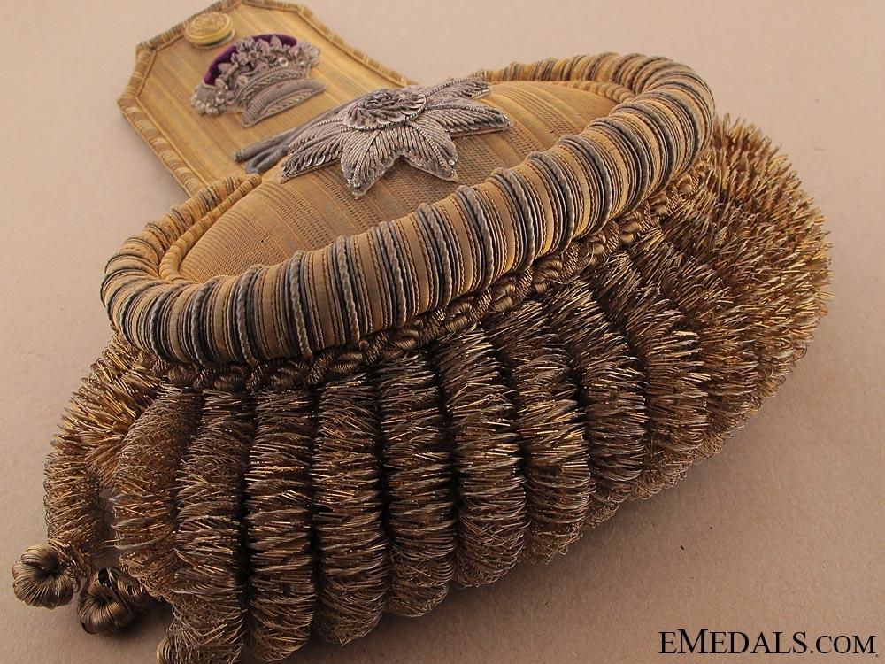 Exquisite Victorian Rear Admiral Epaulettes