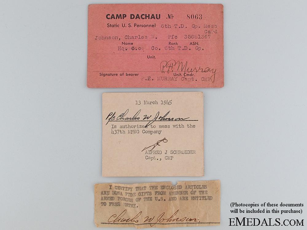"""SS Totenkopf Dachau EM/NCO""""¢¯s Collar Tab"""