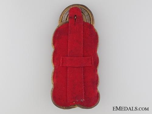 WWI Prussian General's Shoulder Board 1915