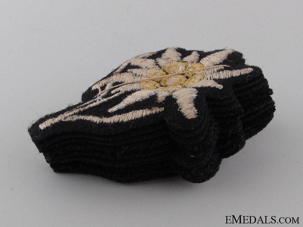 Set of 10 Waffen-SS Sleeve Edelweiss