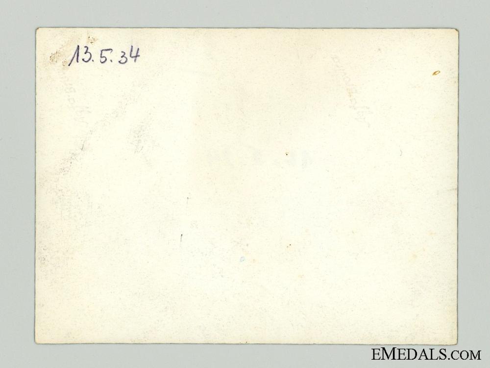 A Rare Ernst R¡_hm Autograph