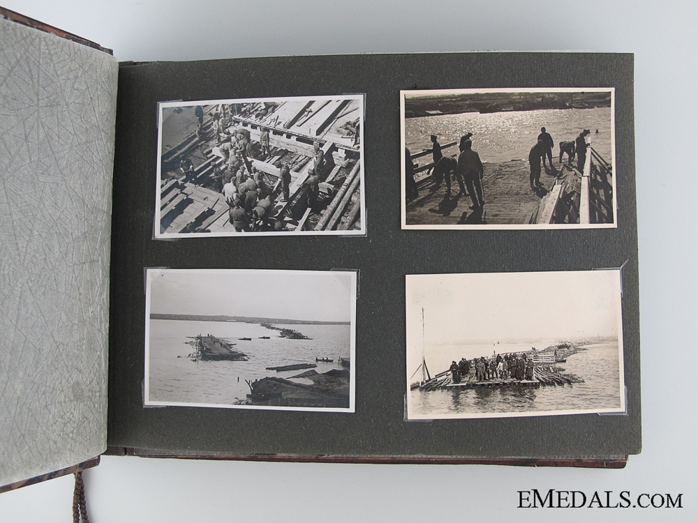 WWII German Pioneer Battalion Photo Album