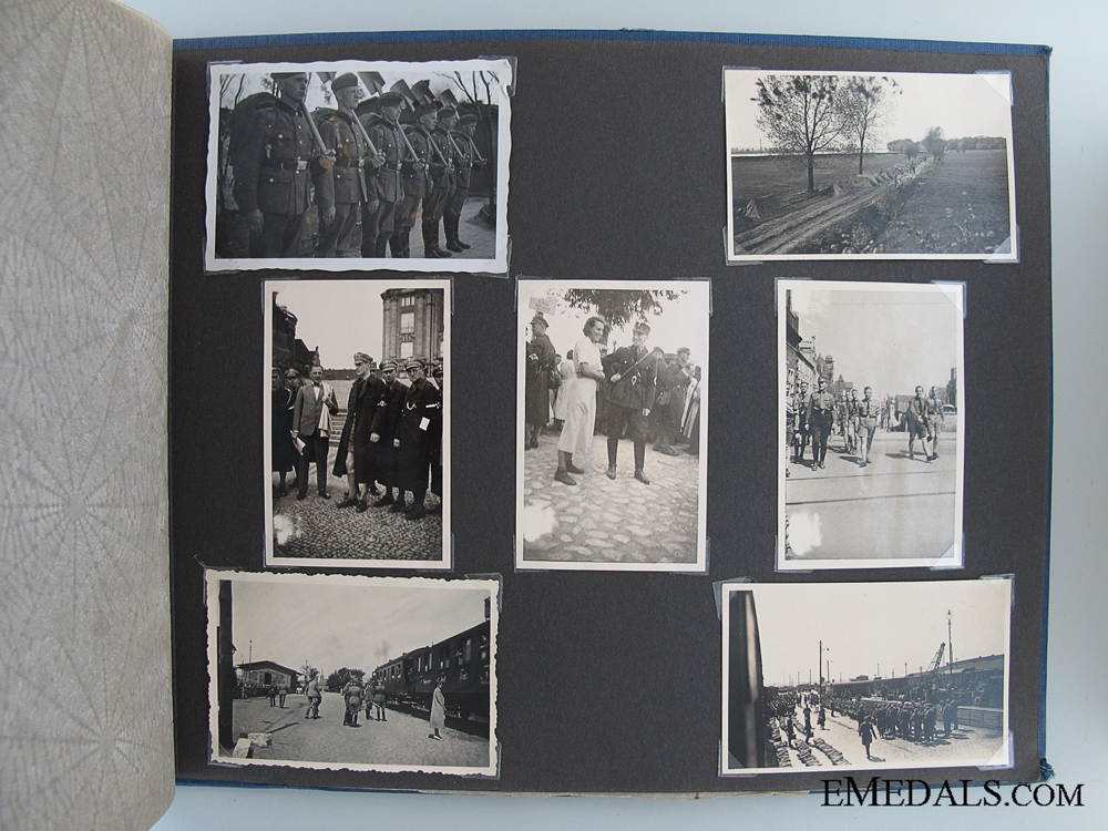 WWII German Army Photo Album