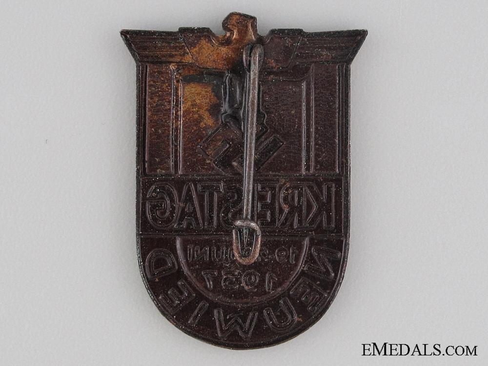 1937 Neuwied Kreistag Tinnie