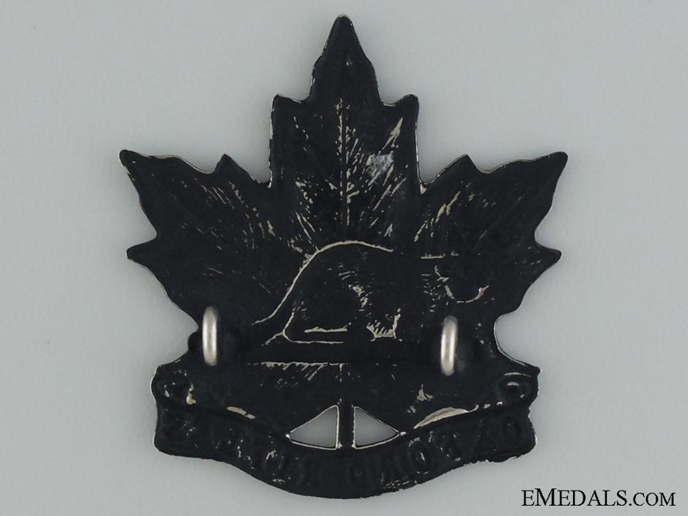 A Pre-WWI Oxford Rifles Cap Badge