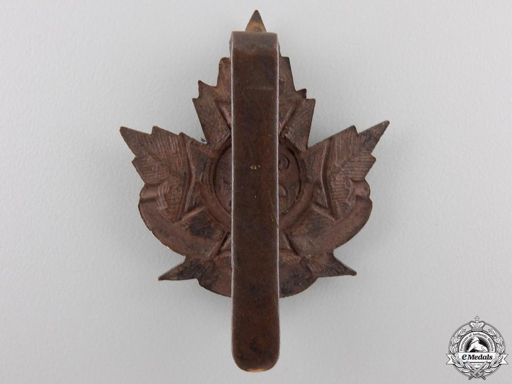 "A First War 24th Infantry Battalion ""Victoria Rifles"" Cap Badge"