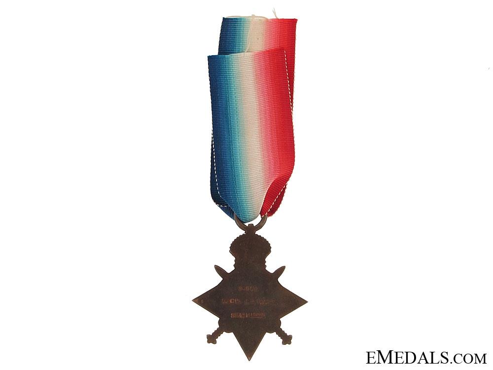 WWI 1914-15 Star - Seaforth Highlanders