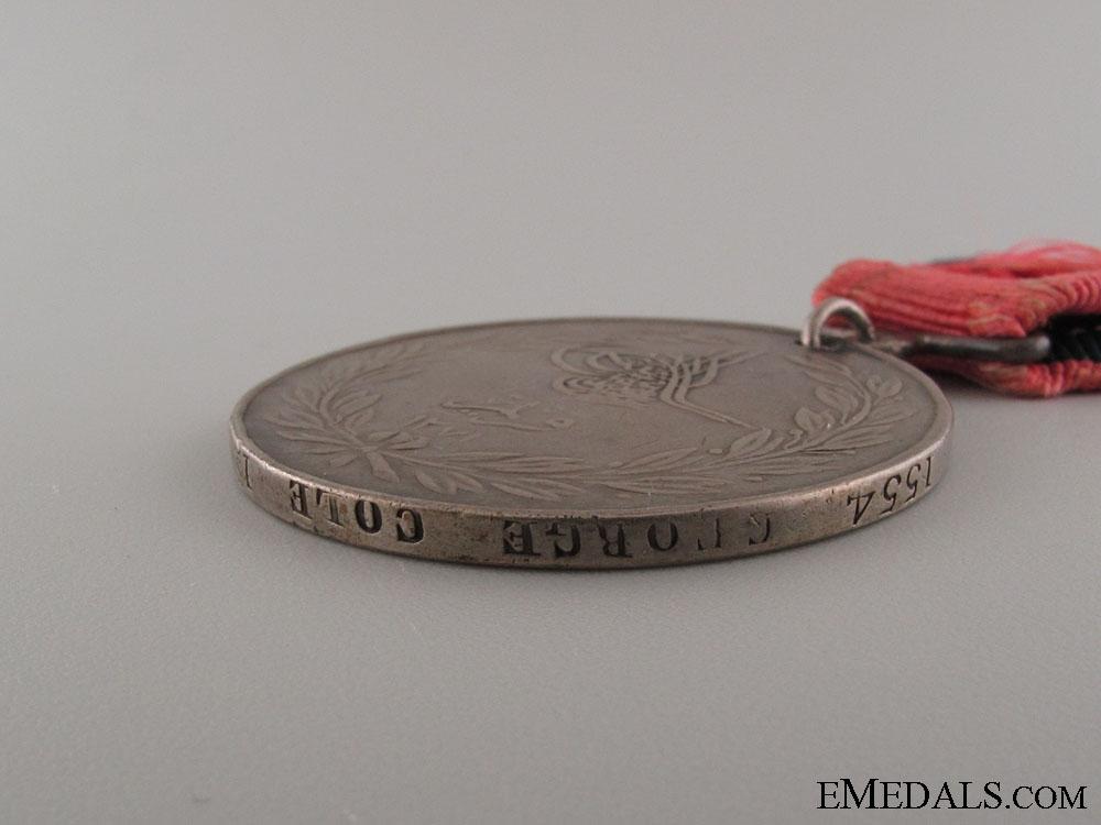 Turkish Crimea Medal - 17th Regiment