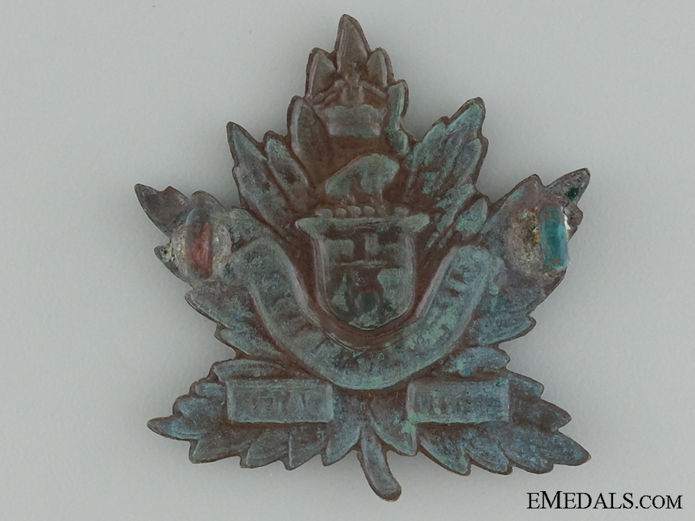 WWI 27th Infantry Battalion Cap Badge CEF