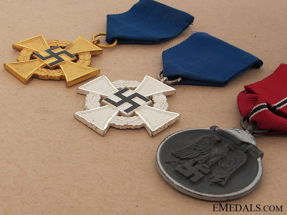 Three German WWII Awards