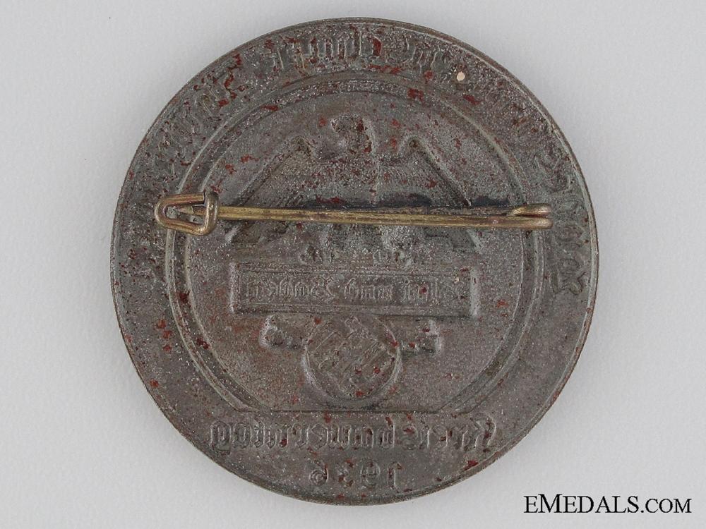 1936 Blut und Baden Badge