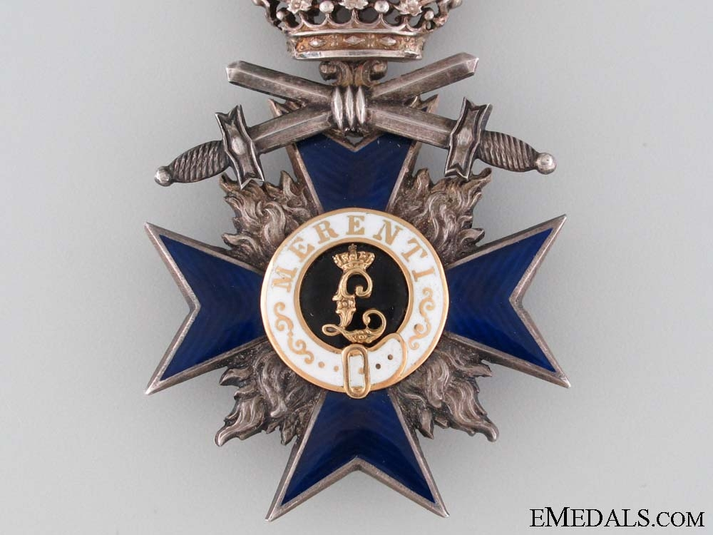 A Bavarian Order of Military Merit with Swords; 4th Class