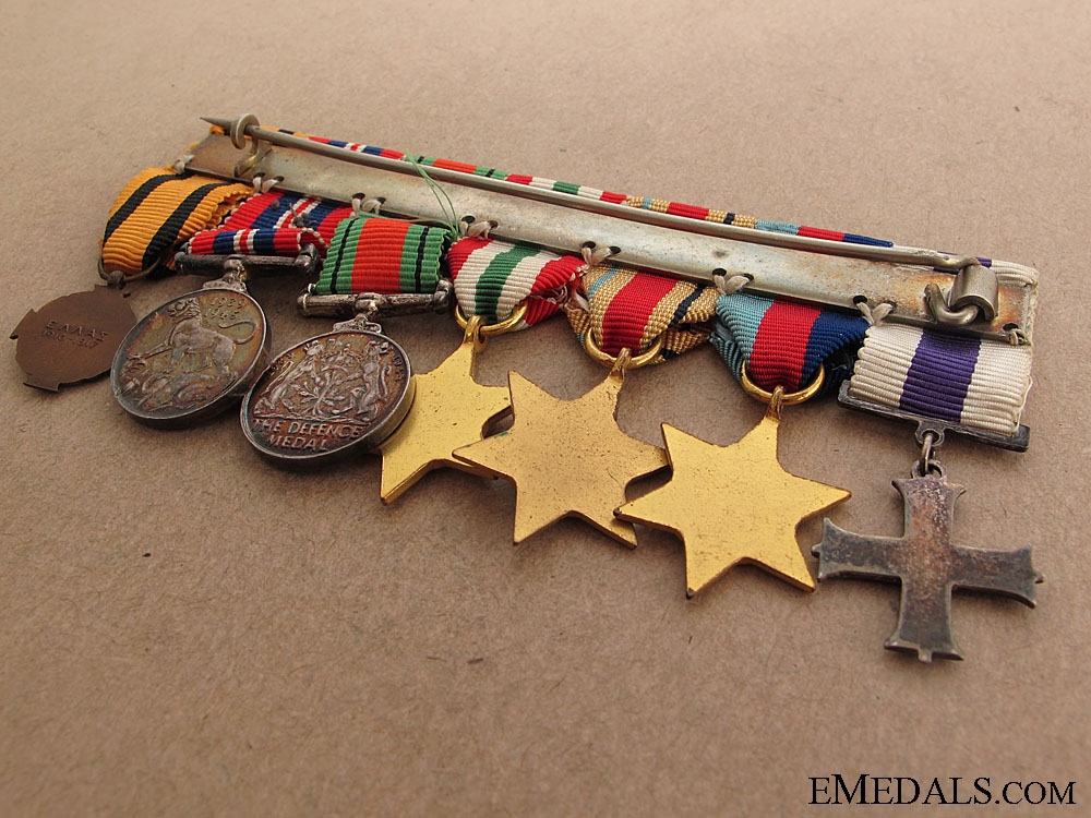 A Military Cross Miniature Group
