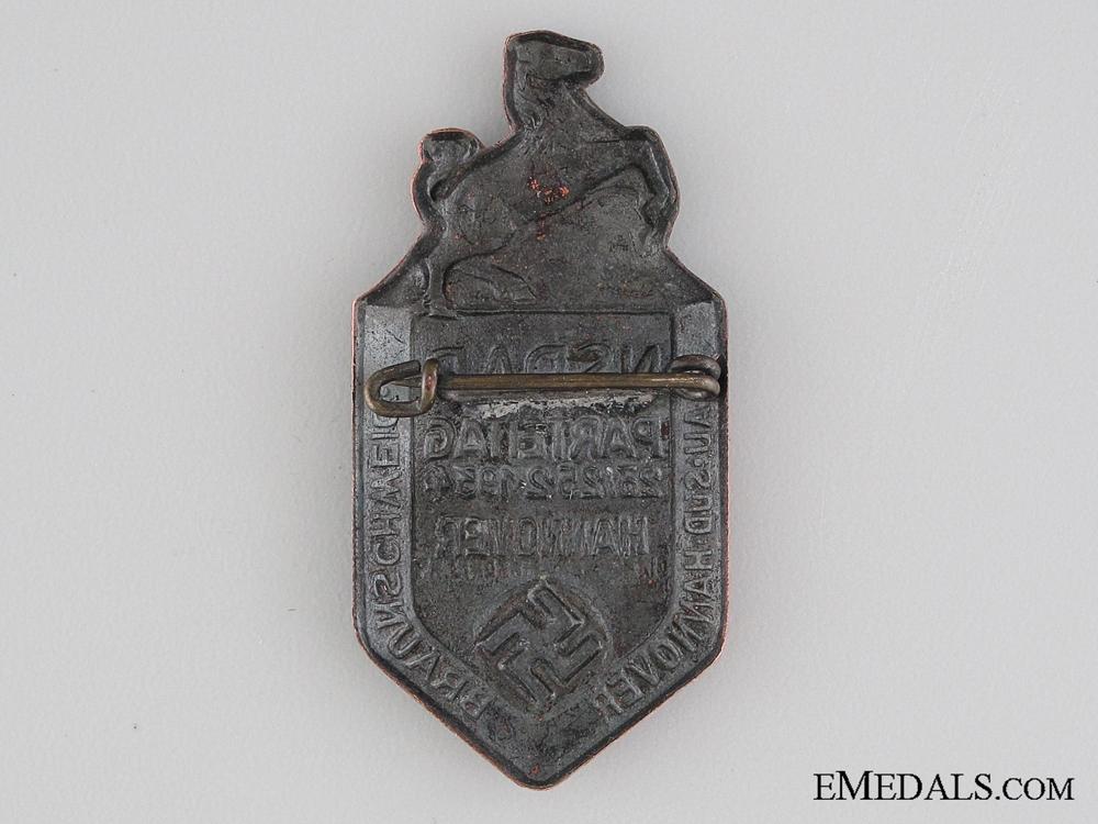 1934 NSDAP Hannover Tinnie