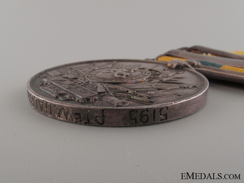 Khedive's Sudan Medal 1896 - 1st Seaforth