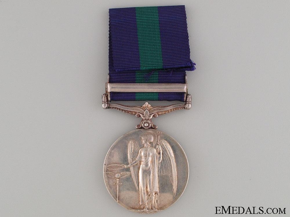 General Service Medal 1918-1962 - SOUTHERN DESERT