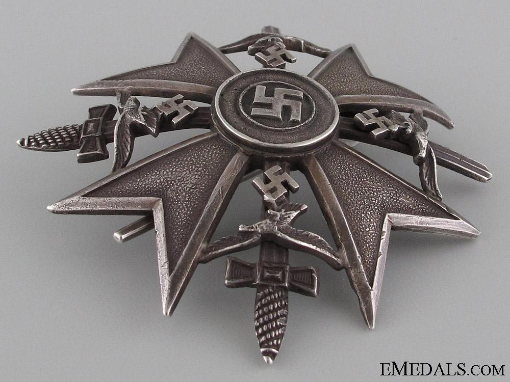 Spanish Cross in Silver w/Swords by CEJ