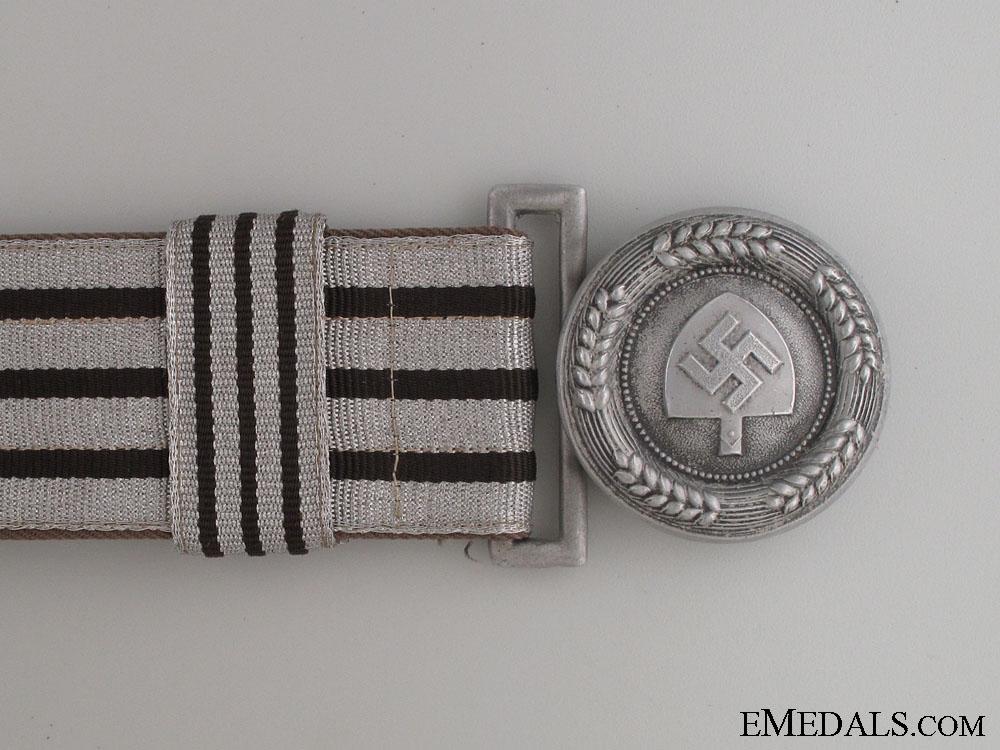 RAD Officer's Brocade Belt & Buckle by Assmann