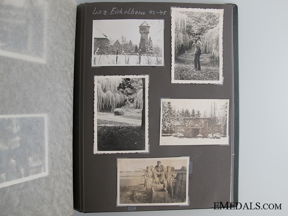 WWII Photo Album to the 208th Regiment