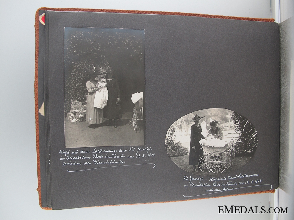 A First World War German Family Photo Album
