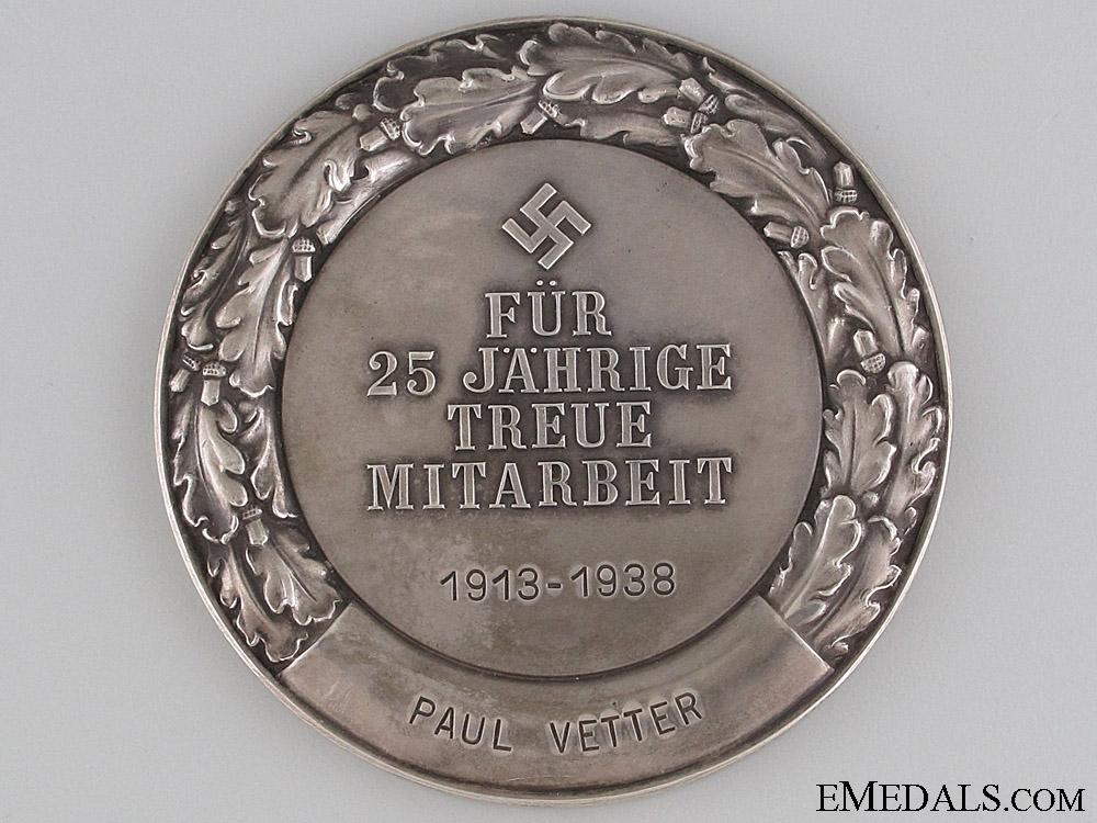Deutsche Bank Merit Award 1913-38