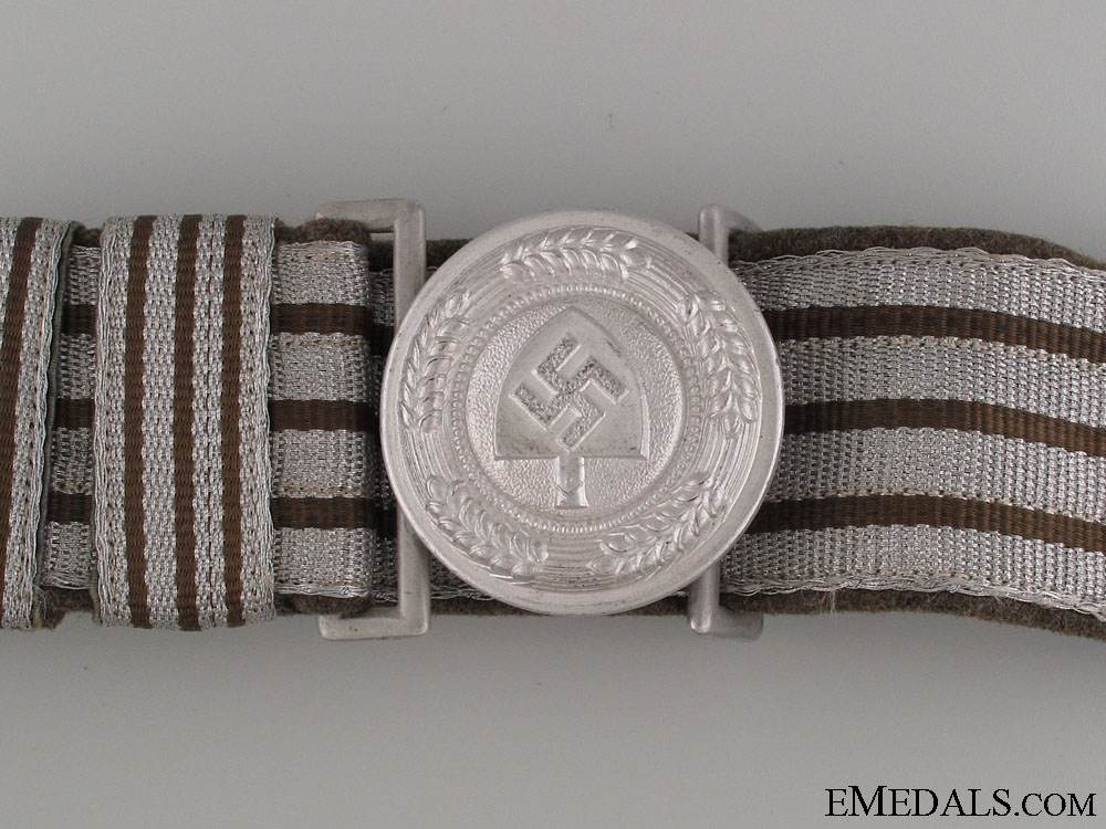 RAD Officer's Brocade Belt and Buckle