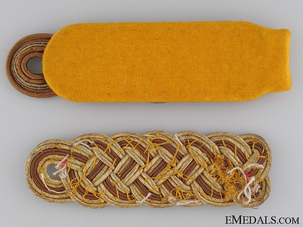 Two SA Officer's Shoulder Board