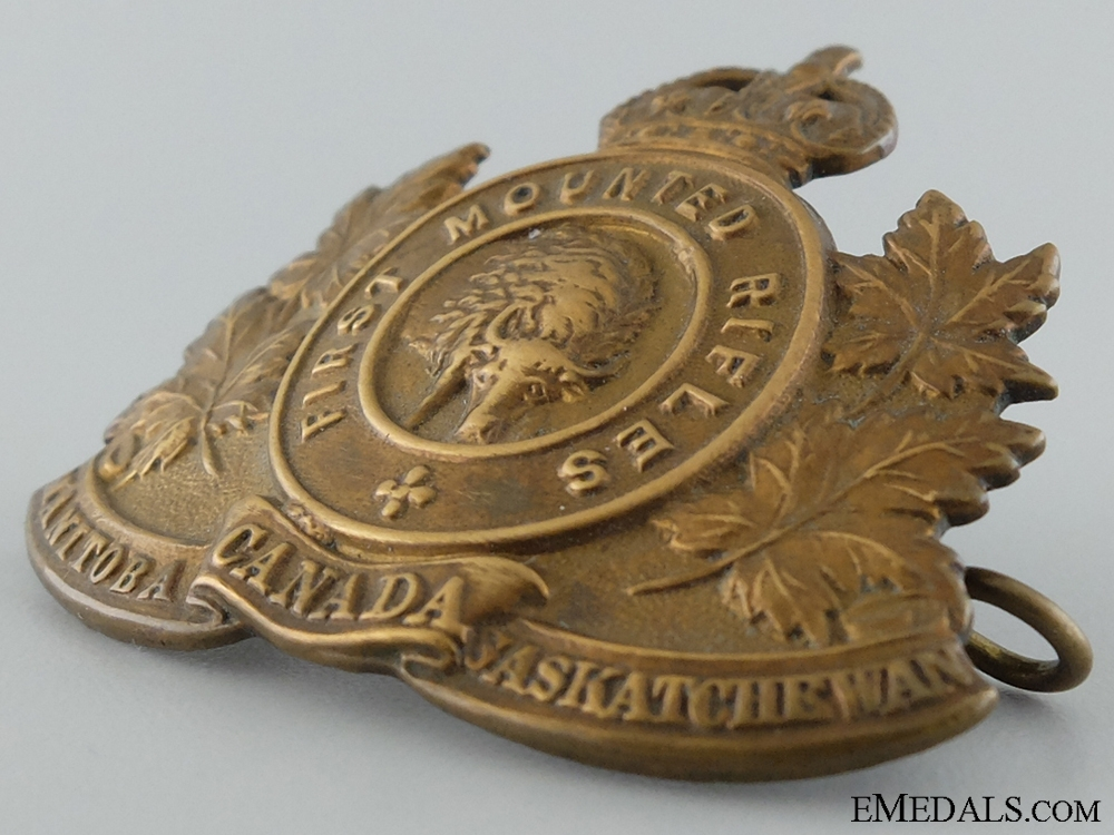 WWI 1st Mounted Rifle Battalion Cap Badge
