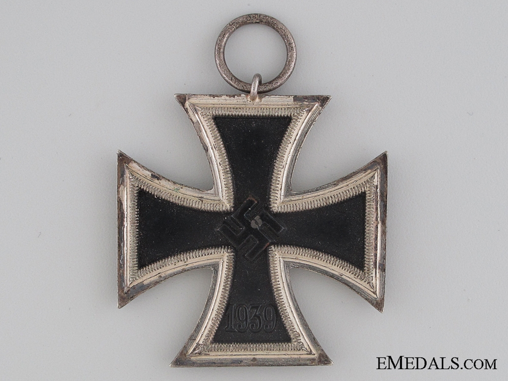 Iron Cross 2nd Class 1939 with Award Document