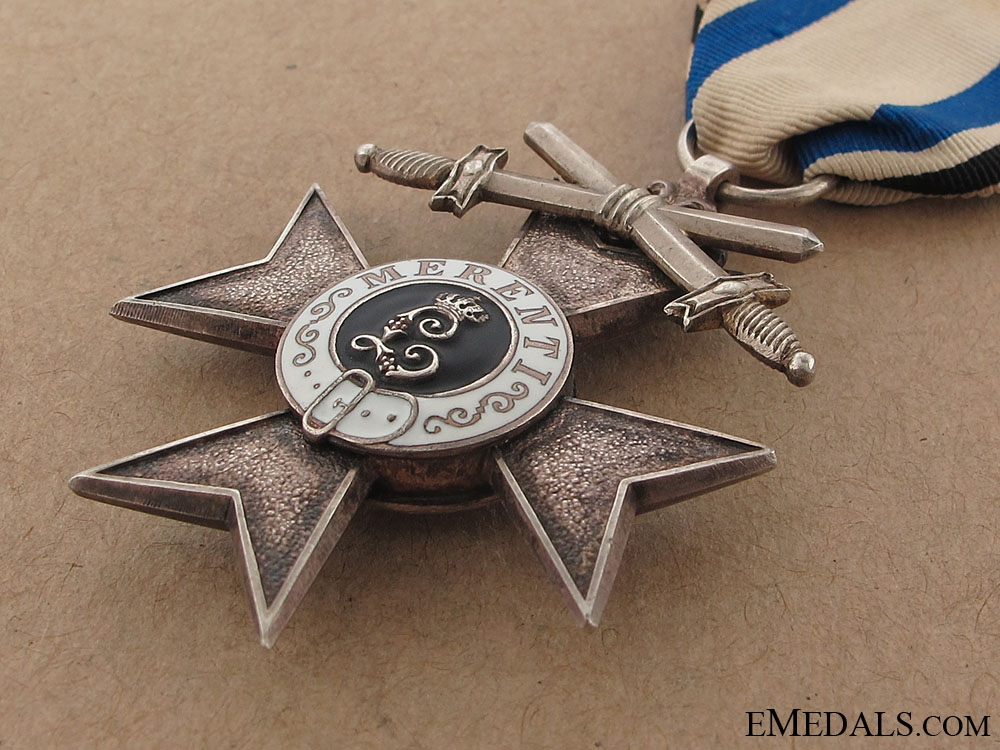 Military Merit Cross 2nd. Cl. w/Swords 1913-18