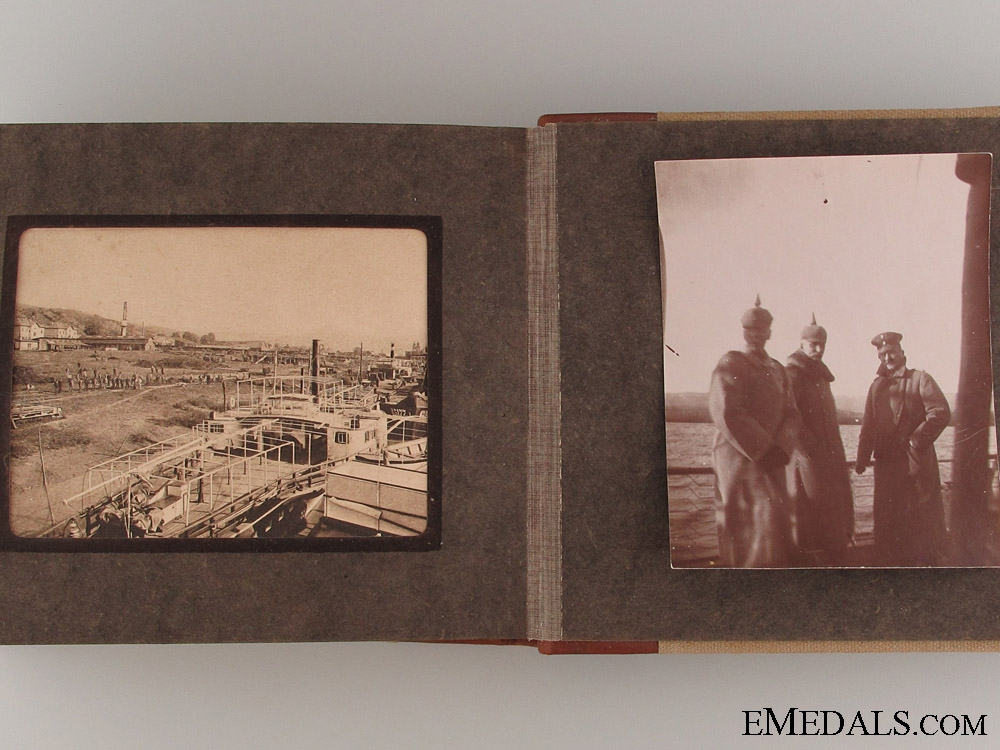 1916 Kaiser Wilhelm Photo Album