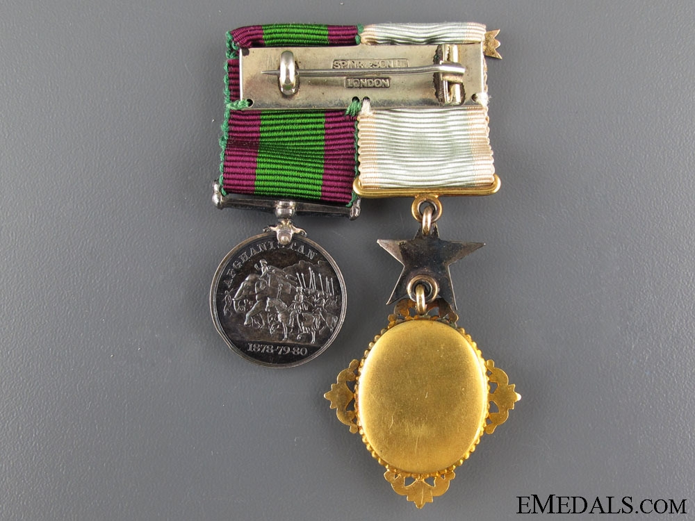 A Fine Order of the Star of India Miniature Pair