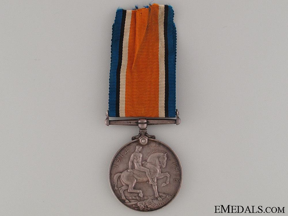 WWI War Medal - Royal Irish Fusiliers KIA