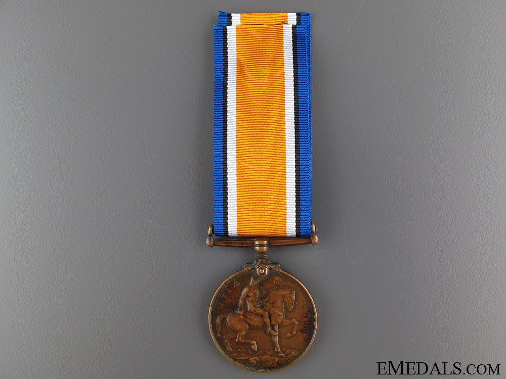 WWI British War Medal - Chinese Labour Corps