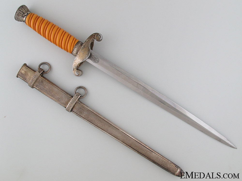 Army (Heer) Dagger by E.&F. Hörster