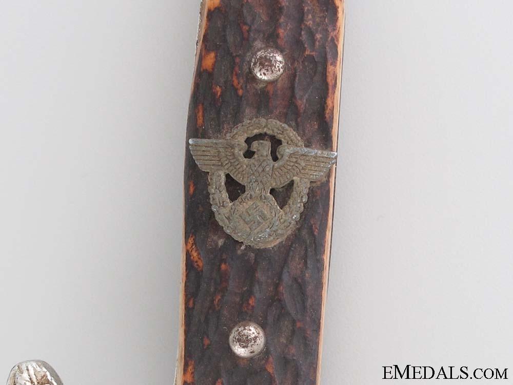 An Early Police Bayonet by Carl Julius Krebs