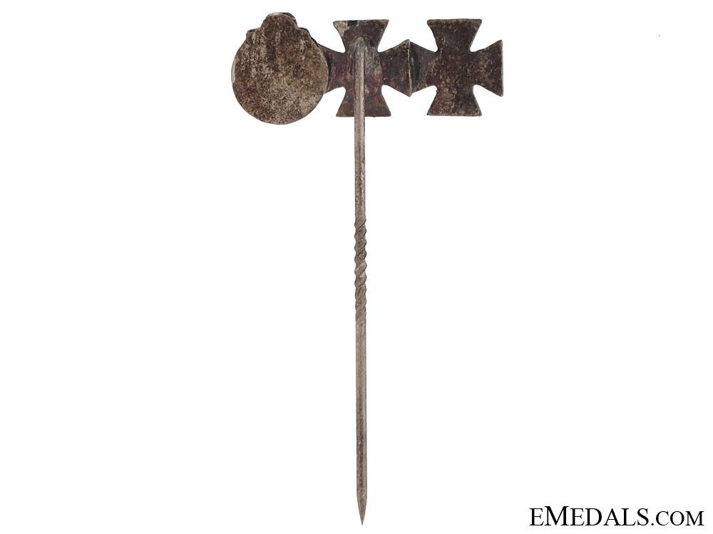 Three Award Eastern Front Stickpin