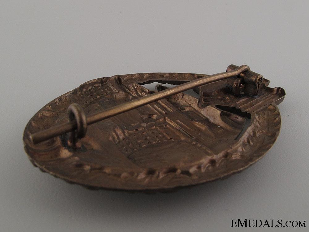 Tank Assault Badge – Bronze & Mint