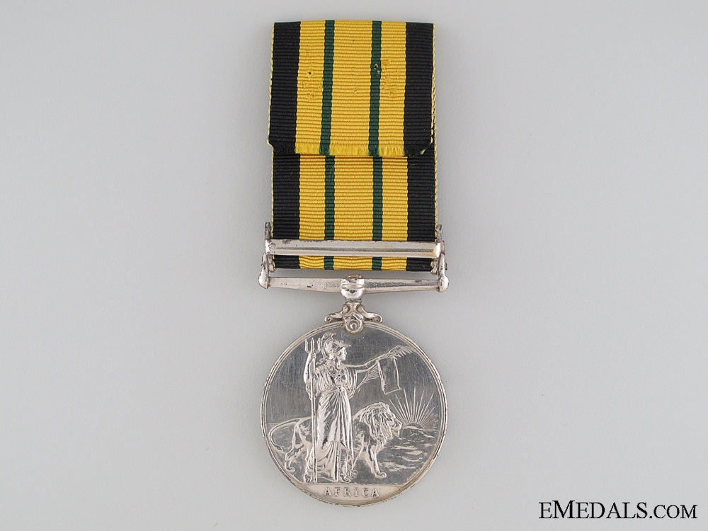 1899-1956 Africa General Service Medal to HMS Highflyer