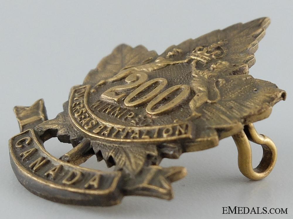 WWI 200th Infantry Battalion Collar Badge CEF